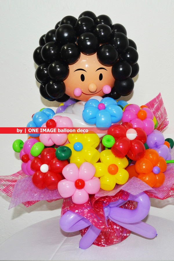 One Image : Party Balloon: Balloon Flower Bouquet